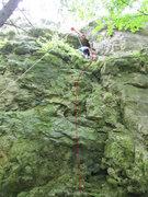 Rock Climbing Photo: Iza climbing Spreizhansel