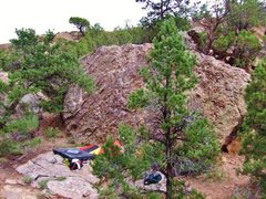Rock Climbing Photo: Slabberwocky west face.