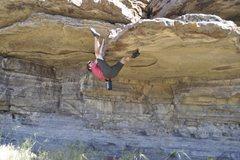 Rock Climbing Photo: shit shelf