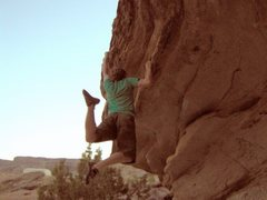 Rock Climbing Photo: near Bullet Hole Rock, Grand Junction, CO
