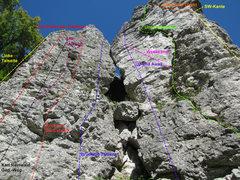 Rock Climbing Photo: Linke Talseit, Die Sucht der Träumer, Karl Reinwa...