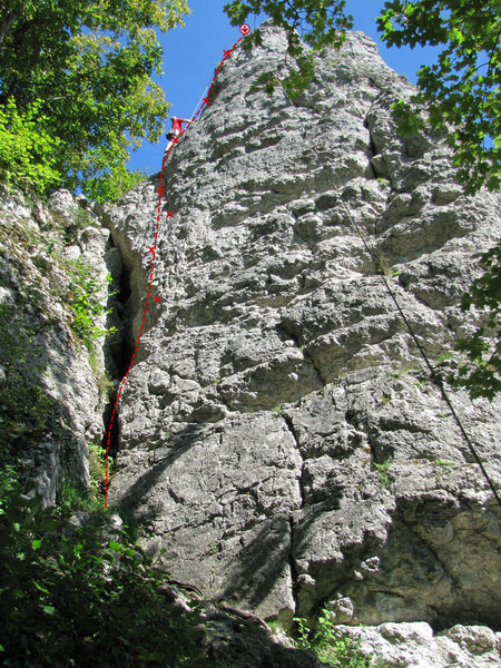 Rock Climbing Photo: Linke Talseite