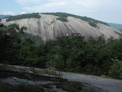 Rock Climbing Photo: Stone Mtn from Cedar/Wolf rock area