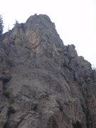 Rock Climbing Photo: Upper main wall of Bell Buttress.  Can anyone indi...