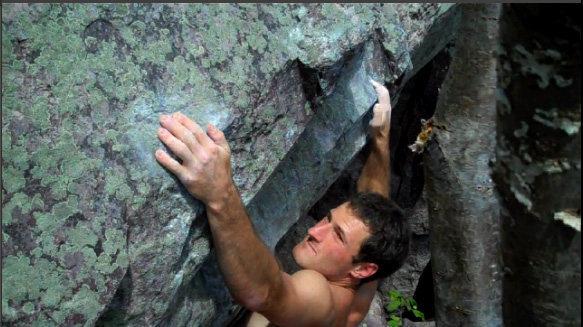 Rock Climbing Photo: Slopey holds..