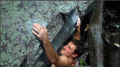 Rock Climbing Photo: Slopey holds..