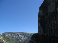 Rock Climbing Photo: morning at the leap