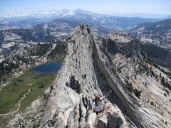 Rock Climbing Photo: so high!