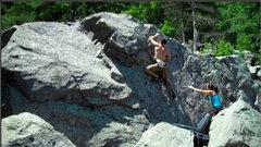 Rock Climbing Photo: The FA of Creaker