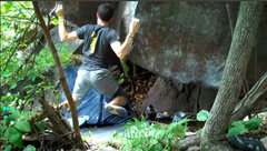 Rock Climbing Photo: Hemberger burling down