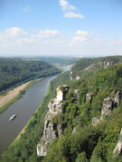 Rock Climbing Photo: The view over the river