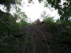 Rock Climbing Photo: Paul Kuenn and Gabe Kuenn climbing J.C. Superstar