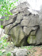 Rock Climbing Photo: Picture taken from the right side of the Bruce Lee...