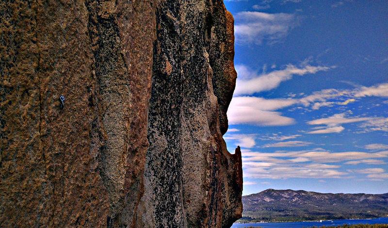 Rock Climbing Photo: Headwall center belay view