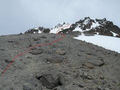 Rock Climbing Photo: The final ridge to the summit.