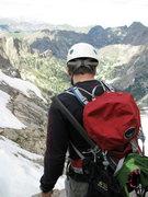 Rock Climbing Photo: Looking for a way down Hopi.