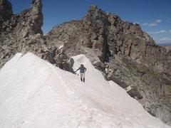 Top of Fair Glacier.