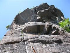 Rock Climbing Photo: Sweet Roof!