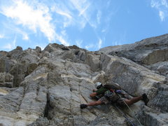 Rock Climbing Photo: J. DuBois hiking P. 2