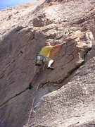 Rock Climbing Photo: Brandon got's a handful of gatah'.