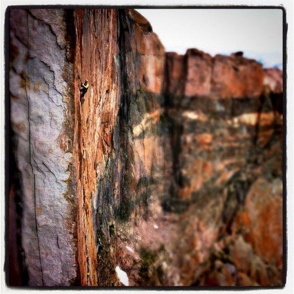 Rock Climbing Photo: PS
