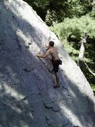 Rock Climbing Photo: Super Slab