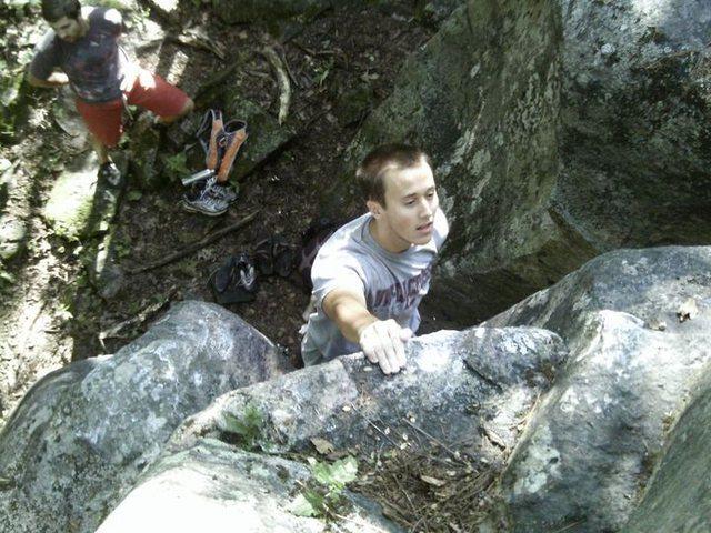 Rock Climbing Photo: Tall Boy
