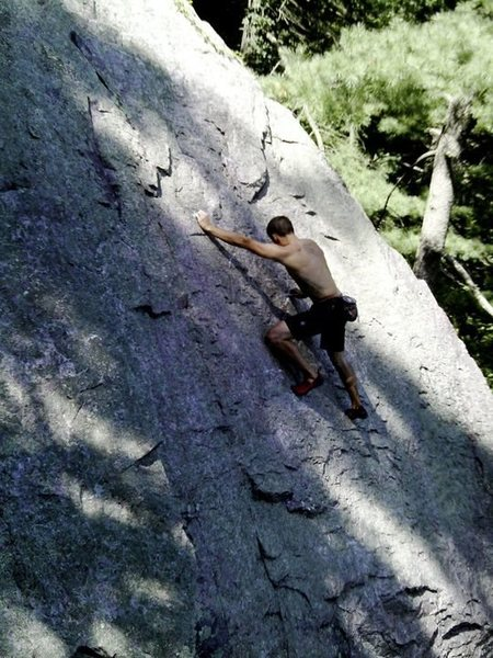 Rock Climbing Photo: 3 laps...couldn't get enough!