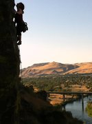 Rock Climbing Photo: Kristy on Fairway to Heaven