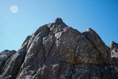 Rock Climbing Photo: leading jack be nimble
