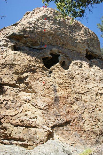 Rock Climbing Photo: The Chinaman, 5.11a/b