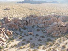 Rock Climbing Photo: Circle Crag as seen from the top of Campfire Crag.