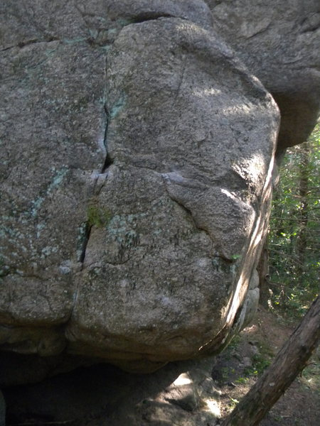 Rock Climbing Photo: The left side of the arete