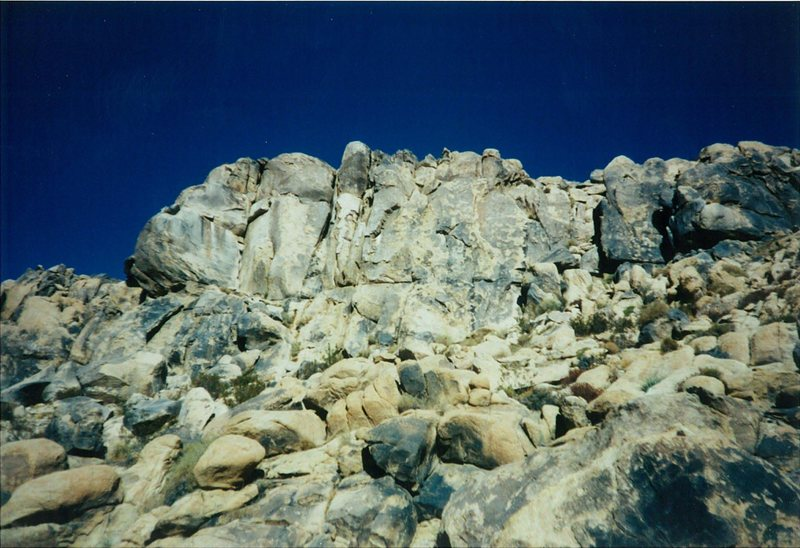 Rock Climbing Photo: South face of The Cove.