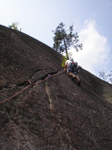 Rock Climbing Photo: Diagonal.