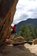 Rock Climbing Photo: Face Out - V5