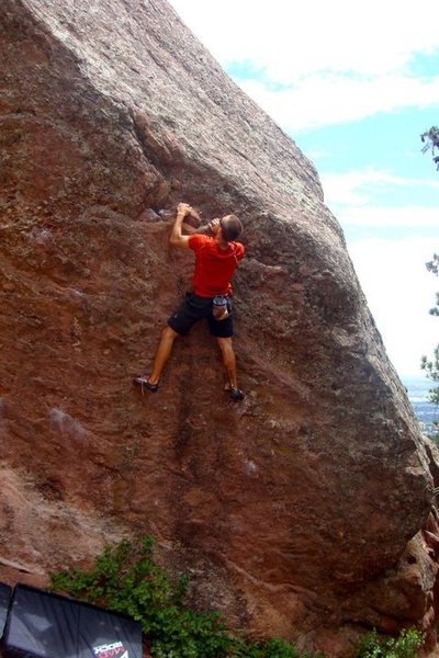 Rock Climbing Photo: Gill Direct - V4
