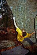 Rock Climbing Photo: Old scan of 'First Class Variation' - circa 2003. ...