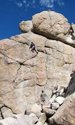 Rock Climbing Photo: My first sport lead.  August 2011.  And, yes, I pu...