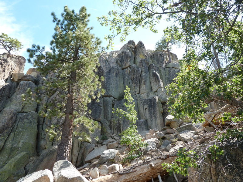 Castle Rock - North Face, Big Bear <br>