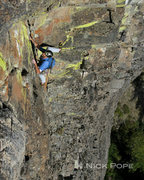 Rock Climbing Photo: Pete Keane on one of the many fine moderates low o...