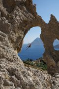 Rock Climbing Photo: The lower off shot from Ballroom.  Photo by: Ram S...