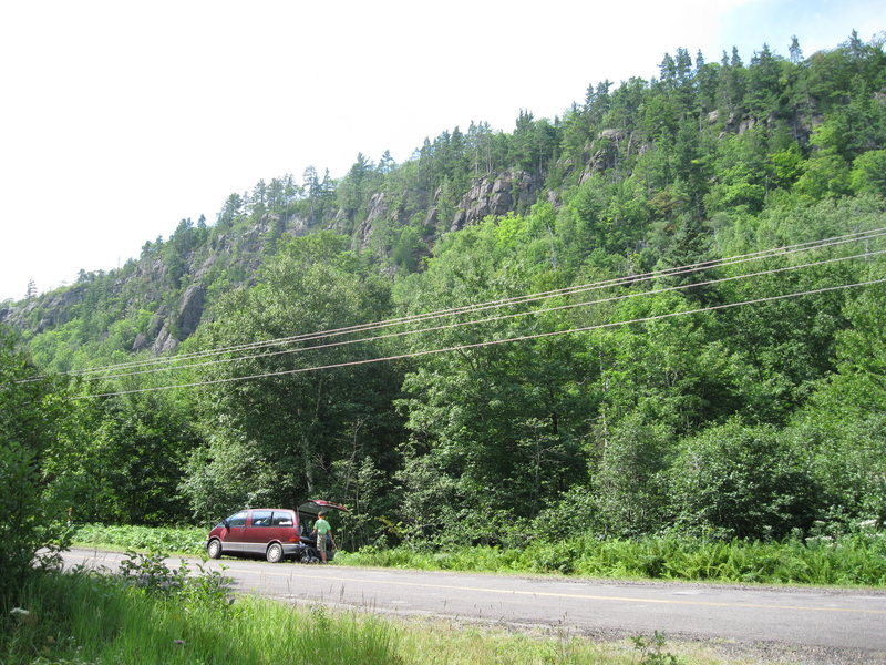 Rock Climbing Photo: South-Westish of J.C.