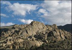 Rock Climbing Photo: Little Egypt. Photo by Blitzo.