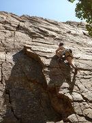 Rock Climbing Photo: Leading G.I. Joe