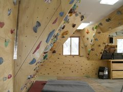 Rock Climbing Photo: Home Wall #2.