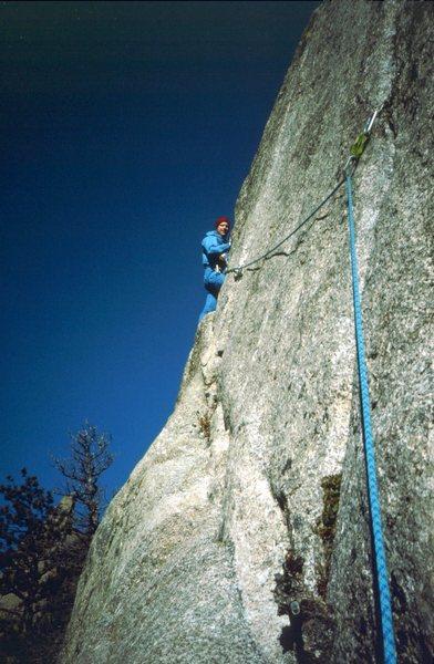 Rock Climbing Photo: Pear Buttress, 1988