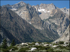 Rock Climbing Photo: Pine Creek Peaks.  Photo by Blitzo.