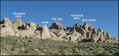 Rock Climbing Photo: Buttermilk Crags. Photo by Blitzo.