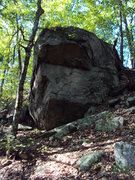 Rock Climbing Photo: Double Roof boulder.